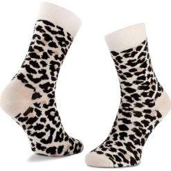 Skarpety Wysokie Unisex HAPPY SOCKS - LEO01-1000 Beżowy Czarny. Skarpety damskie Happy Socks, z bawełny. Za 34.90 zł.