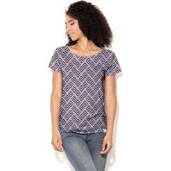 Colour Pleasure Koszulka damska CP-034  240 fioletowo-brzoskwiniowa r. XS-S. T-shirty damskie Colour Pleasure. Za 70.35 zł.