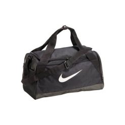 Torba fitness Brazylia. Czarne torby sportowe męskie Nike, z materiału. Za 119.99 zł.