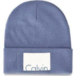 Czapka CALVIN KLEIN JEANS - Calvin Beanie W K60K603452 439. Niebieskie czapki i kapelusze damskie Calvin Klein Jeans, z jeansu. Za 129.00 zł.