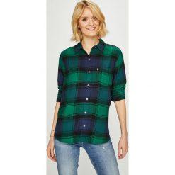 Levi's - Koszula. Brązowe koszule damskie Levi's, w kratkę, z bawełny, casualowe, z klasycznym kołnierzykiem, z długim rękawem. Za 279.90 zł.