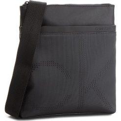 Saszetka CALVIN KLEIN - Ck Poit Flat Crosso K50K503877  001. Czarne sandały męskie Calvin Klein, z materiału, młodzieżowe. Za 349.00 zł.
