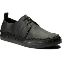 Półbuty CLARKS - Kessell Craft 261337497 Black Leather. Czarne półbuty na co dzień męskie Clarks, ze skóry ekologicznej. W wyprzedaży za 259.00 zł.