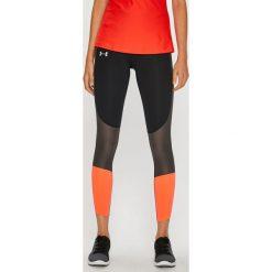 Under Armour - Legginsy Speed Pocket Run Crop. Różowe legginsy damskie Under Armour, z dzianiny. Za 299.90 zł.