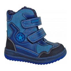 Protetika Buty Zimowe Za Kostkę Chłopięce Riki 21 Niebieski. Niebieskie buty zimowe chłopięce Protetika, z futra. Za 175.00 zł.