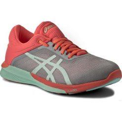 Buty ASICS - FuzeX Rush T768N Midgrey/Bay/Flash Coral 9690. Szare obuwie sportowe damskie Asics, z materiału. W wyprzedaży za 329.00 zł.