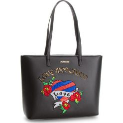 Torebka LOVE MOSCHINO - JC4057PP16LJ0000 Nero. Czarne torebki do ręki damskie Love Moschino. W wyprzedaży za 639.00 zł.