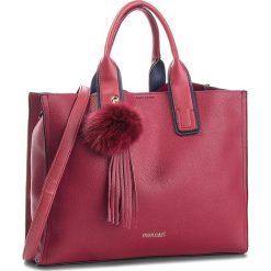 Torebka MONNARI - BAG6150-005 Burgund. Czerwone torebki do ręki damskie Monnari, ze skóry ekologicznej. W wyprzedaży za 199.00 zł.