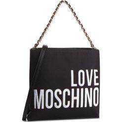 Torebka LOVE MOSCHINO - JC4113PP17LO0000 Nero. Czarne torebki do ręki damskie Love Moschino, z materiału. Za 779.00 zł.
