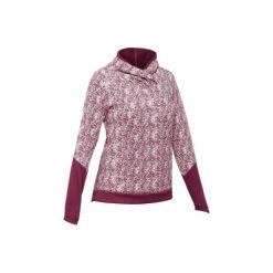 Sweter turystyczny NH500 damski. Czerwone swetry damskie QUECHUA. Za 69.99 zł.