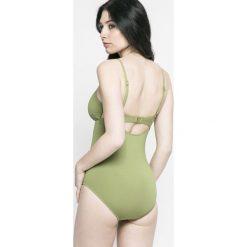 Seafolly - Strój kąpielowy Active. Szare kostiumy jednoczęściowe damskie Seafolly. W wyprzedaży za 269.90 zł.