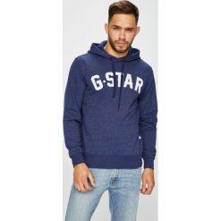 G-Star Raw - Bluza. Szare bluzy męskie G-Star Raw, z nadrukiem, z bawełny. W wyprzedaży za 369.90 zł.