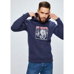 DC - Bluza. Szare bluzy męskie DC, z nadrukiem, z bawełny. W wyprzedaży za 239.90 zł.