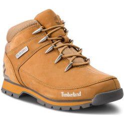 Trapery TIMBERLAND - Euro Sprint Hiker TB0A1TZV Wheat. Żółte śniegowce i trapery męskie Timberland, z gumy. W wyprzedaży za 469.00 zł.