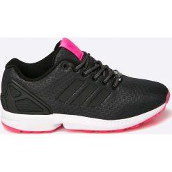 Adidas Originals - Buty ZX Flux. Czarne obuwie sportowe damskie adidas Originals, z materiału. W wyprzedaży za 239.90 zł.
