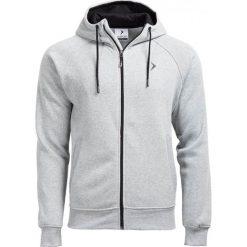Bluza męska BLM601 - JASNY SZARY MELANŻ - Outhorn. Szare bluzy męskie Outhorn, na jesień, melanż, z materiału. W wyprzedaży za 62.99 zł.