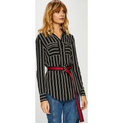 Tally Weijl - Koszula. Szare koszule damskie TALLY WEIJL, w paski, z tkaniny, casualowe, z długim rękawem. W wyprzedaży za 79.90 zł.