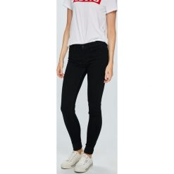 Levi's - Jeansy 710. Brązowe jeansy damskie Levi's. Za 369.90 zł.