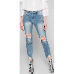 Answear - Jeansy Wild Nature. Niebieskie jeansy damskie ANSWEAR. W wyprzedaży za 89.90 zł.