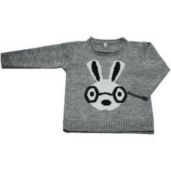 EKO Sweter Dziewczęcy 122 Jasnoszary. Swetry dla dziewczynek marki bonprix. Za 85.00 zł.