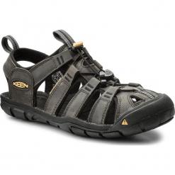 Sandały KEEN - Clearwater Cnx Leather 1013107 Magnet/Black. Szare sandały męskie Keen, z materiału. W wyprzedaży za 299.00 zł.