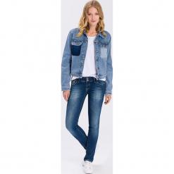 """Dżinsy """"Melissa"""" - Skinny fit - w kolorze niebieskim. Niebieskie jeansy damskie Cross Jeans. W wyprzedaży za 136.95 zł."""