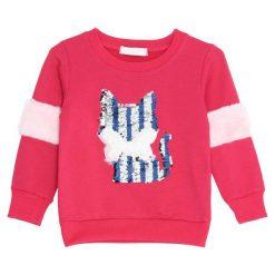Fuksjowa Bluza Wisdom. Różowe bluzy dla dziewczynek Born2be. Za 34.99 zł.