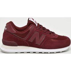 New Balance - Buty ML574ETD. Brązowe buty sportowe męskie New Balance, z gumy. Za 349.90 zł.