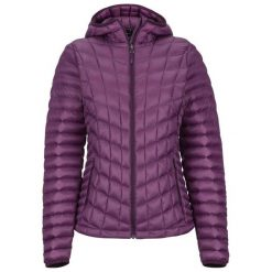 Marmot Kurtka Damska Wm's Featherless Hoody Dark Purple Xs. Fioletowe kurtki sportowe damskie Marmot. Za 795.00 zł.
