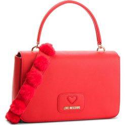 Torebka LOVE MOSCHINO - JC4282PP06KL0500 Rosso. Czerwone torebki do ręki damskie Love Moschino, ze skóry ekologicznej. Za 909.00 zł.