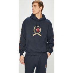 Tommy Jeans - Bluza. Czarne bluzy męskie Tommy Jeans, z aplikacjami, z bawełny. Za 649.90 zł.