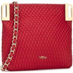 Torebka NOBO - NBAG-D3260-C005 Czerwony. Czerwone torebki do ręki damskie Nobo, ze skóry ekologicznej. W wyprzedaży za 89.00 zł.