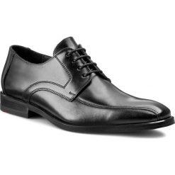 Półbuty LLOYD - Daran 14-063-00 Black. Czarne eleganckie półbuty Lloyd, ze skóry. W wyprzedaży za 439.00 zł.