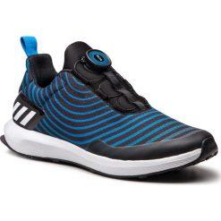 Buty adidas - RapidaRun Uncaged Boa K AH2614 Cblack/Ftwwht/Brblue. Czarne obuwie sportowe damskie Adidas, z materiału. W wyprzedaży za 209.00 zł.