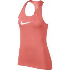 Nike Koszulka Damska W Np Tank All Over Mesh Crimson Pulse White Xl. Białe koszulki sportowe damskie Nike, z meshu. Za 105.00 zł.