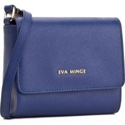 Torebka EVA MINGE - Odalis 2F 17NB1372170EF  407. Niebieskie listonoszki damskie Eva Minge, ze skóry ekologicznej. W wyprzedaży za 199.00 zł.