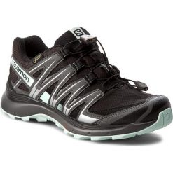 Buty SALOMON - Xa Lite Gtx GORE-TEX 393326 20 V0 Black/Magnet/Fair Aqua. Czarne obuwie sportowe damskie Salomon, z gore-texu. W wyprzedaży za 379.00 zł.