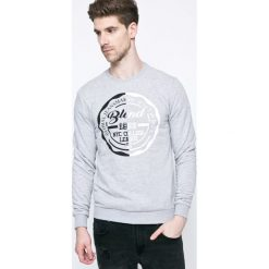 Blend - Bluza. Szare bluzy męskie Blend, z nadrukiem, z bawełny. W wyprzedaży za 99.90 zł.