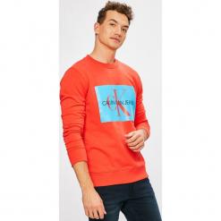 Calvin Klein Jeans - Bluza. Szare bluzy męskie Calvin Klein Jeans, z nadrukiem, z bawełny. W wyprzedaży za 319.90 zł.