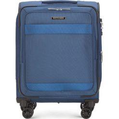 Walizka kabinowa 56-3S-581-90. Czarne walizki damskie Wittchen. Za 349.00 zł.