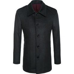 Płaszcz ALFREDO 14-69LK. Czarne płaszcze męskie Giacomo Conti, z wełny, eleganckie. Za 499.00 zł.