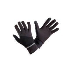 Rękawiczki EVOLUTIV BY NIGHT. Czarne rękawiczki damskie KALENJI, z elastanu. Za 39.99 zł.