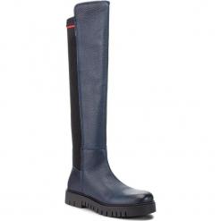 Muszkieterki TOMMY JEANS - Sock Tommy Jeans Boo EN0EN00382 Midnight 403. Niebieskie kozaki damskie Tommy Jeans, z jeansu. Za 799.00 zł.
