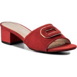 Klapki JENNY FAIRY - LS4486-01 Czerwony. Czerwone klapki damskie Jenny Fairy, z materiału. Za 69.99 zł.