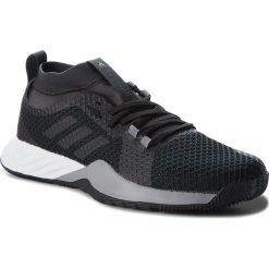 Buty adidas - CrazyTrain Pro 3.0 M AQ0414  Cblack/Cblack/Grethr. Czarne buty sportowe męskie Adidas, z materiału. W wyprzedaży za 279.00 zł.