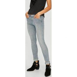 Pepe Jeans - Jeansy Lola. Niebieskie jeansy damskie Pepe Jeans. W wyprzedaży za 269.90 zł.