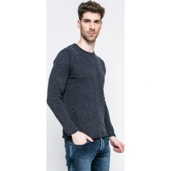 Blend - Sweter. Szare swetry przez głowę męskie Blend, z bawełny, z okrągłym kołnierzem. W wyprzedaży za 59.90 zł.