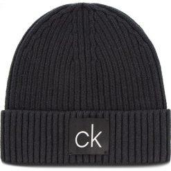 Czapka CALVIN KLEIN - Basic Rib Beanie K50K504096 001. Czarne czapki i kapelusze męskie Calvin Klein. Za 179.00 zł.