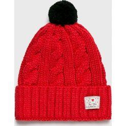 Femi Stories - Czapka. Czerwone czapki i kapelusze damskie Femi Stories, z dzianiny. W wyprzedaży za 99.90 zł.