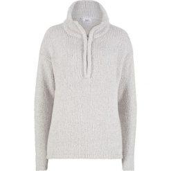 Sweter z puszystej przędzy bonprix jasnoszary melanż. Szare swetry damskie bonprix. Za 74.99 zł.
